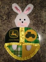 John Deere - Fisher Price Bunny Security Blanket Replica