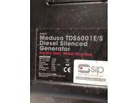 Medusa Diesel Silenced Generator 110 & 140 V