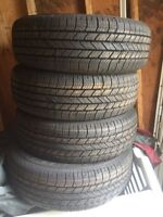 New Goodyear integrity tires 225/60/17