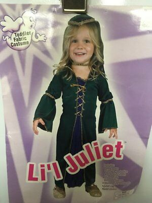 HALLOWEEN COSTUMES REDUCED CLEAR CHILDRENS LIL JULIET CLEARANCE GIRL TODDLER