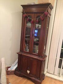 Beautiful vintage dresser display unit