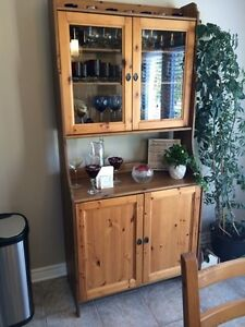 Kitchen Table + 8 chairs + Cabinet London Ontario image 4
