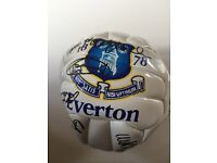 Signed Everton football 2003