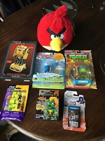 Adventure time / angry birds / transformers and more Bundle