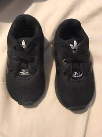 Adidas torsion baby trainers