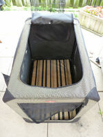 Gently Used Soft Dog Crate (Pup Tent)