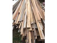 Red hardwood/mahogany off curs