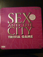 SEX AND THE CITY TRIVIA GAME