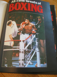 "A BOOK for the BOXING ENTHUSIAST..""ALL-TIME-GREATS of BOXING"""