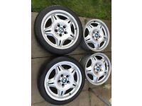BMW alloy wheels, style 24, motorsport reps, 17x7.5j, 5x120 ,225/45/17
