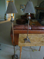 Table and Floor lamps