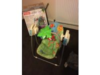 Fisher price swing rain forest