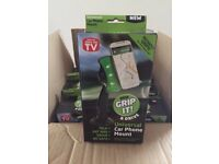 Grip It - Car Phone holders Wholesale / Job Lot x35