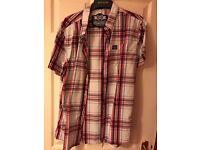 X2 superdry checkered shirts xxl