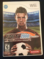 PES 2008 Nintendo Wii Game