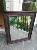 Large Mirror WITH BEAUTIFUL DETAIL ON FRAME
