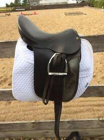 reactor panel dressage saddle
