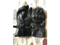 Held Leather Motorcycle Gloves