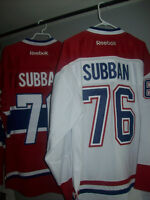 LOT 2 SUBBAN 76 replica premier jersey Montreal canadiens size L City of Montréal Greater Montréal Preview