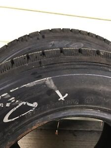 Two winter tires 185/70/14 Prince George British Columbia image 1