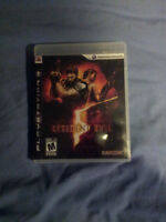PS3 Games - Resident Evil 5, Dishonored, Resident Evil 6, Batman