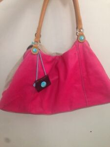 2 toned LEATHER Bag!!!!