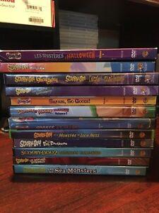 SCOOBY-DOO DVDS