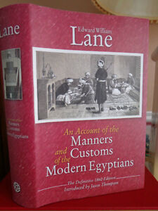 AN ACCOUNT OF THE MANNERS AND CUSTOMS MODERN EGYPTIANS BY EDWARD West Island Greater Montréal image 1