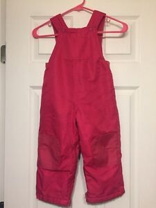 Pink snow pants size 4 years