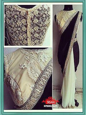 Designer Party Wear Wedding Indian Pakistani Saree Sari Bollywood Ethnic Lehenga
