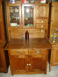 Maple Hoosier Cupboard