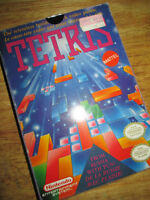 ***NINTENDO NES CLASSIC TETRIS COMPLETE IN BOX/TESTED!!!***