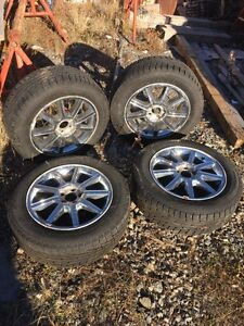 Winter Tires and Rims 225/60 R18
