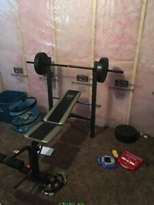 Mint condition weight bench