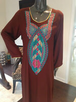 Pakistani Clothes - party wear semi formal