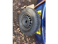 Vauxhall Corsa new wheel and tyre 2009 185/70/14