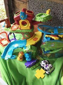 Toot toot tree house bundle