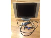 """Samsung working television 15"""" with remote control!"""