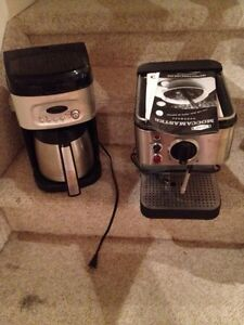 Coffee and expresso machines