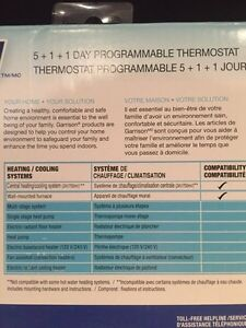 Brand new Garrison Programmable Smart Intelligent thermostat  Kitchener / Waterloo Kitchener Area image 4