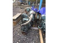 Rare Rootes lister TS3 two stroke boat engines.