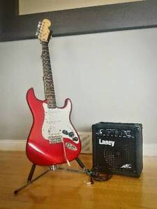 favorite this post Fender Strat + Amp + Wall Mount