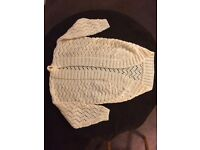 Aran cable knit Shrug
