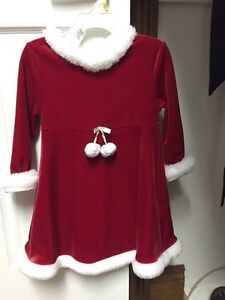 Twins  -Girls Xmas dress - size 3 Peterborough Peterborough Area image 1