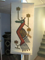 New Handmade Ecuadorian Art Hanging