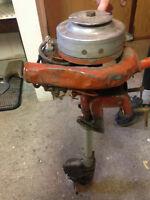 Antique Johnson Outboard Motor. Model MS39.