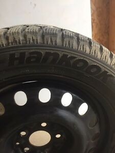 Winter tires with rim for sale!  London Ontario image 2