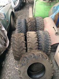 Atv tyres bundle 50pound