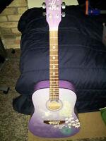 Washburn Disney Hannah Montana Acoustic 3/4 Scale Guitar