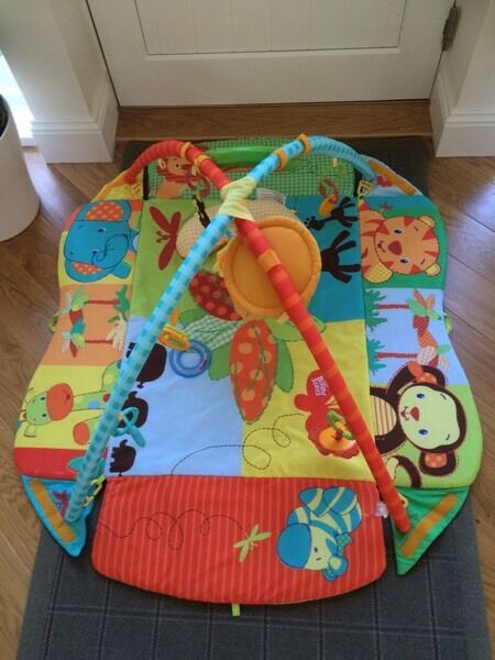 Bright Starts Swingin' Safari Baby's Play Place Activity Gym in GREAT, CLEAN CONDITION.